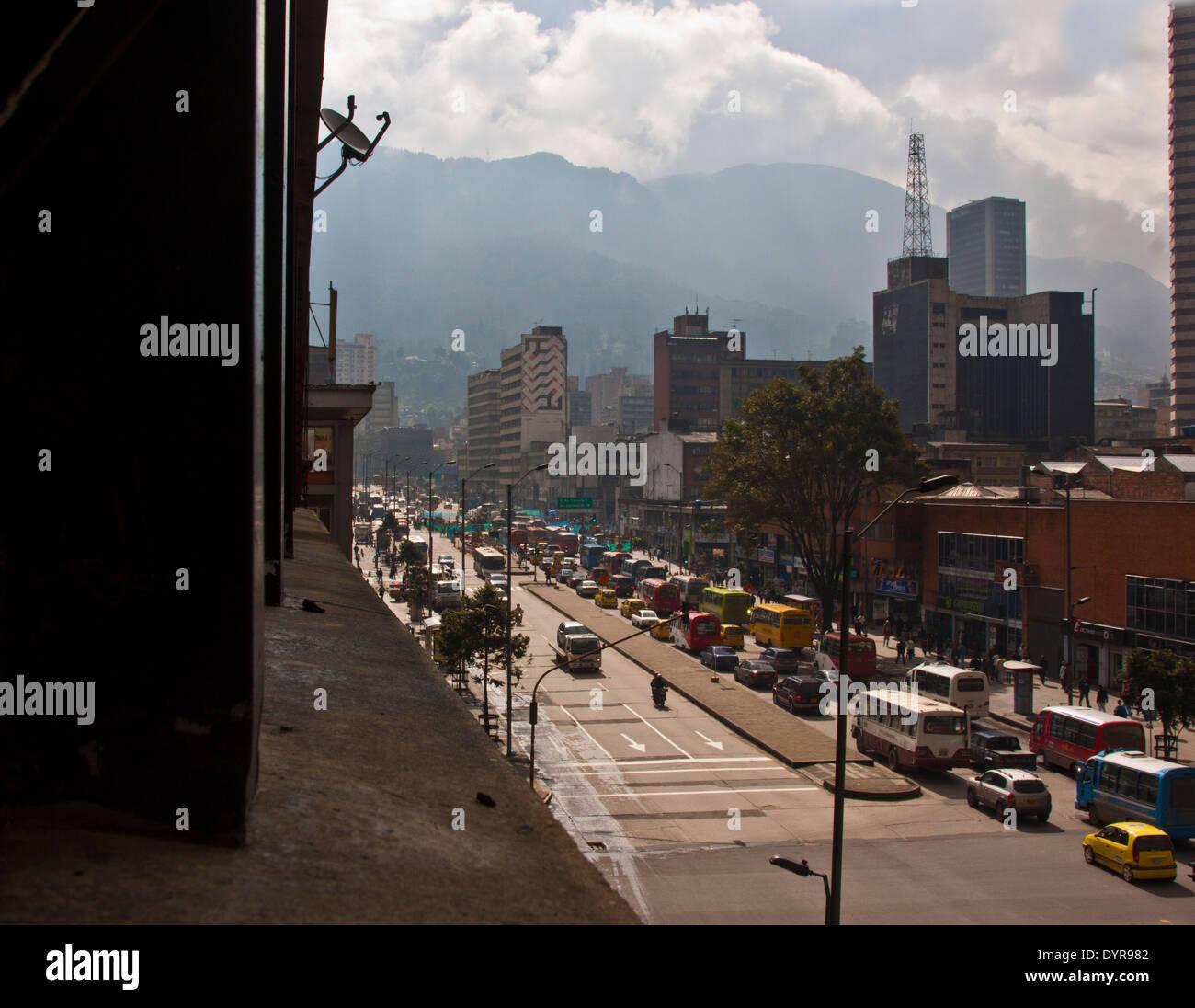 Morning traffic - Stock Image