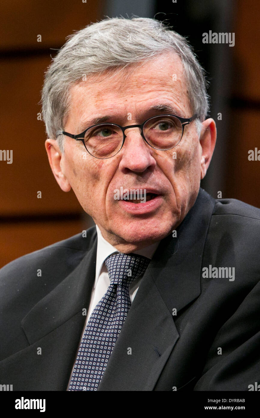 Federal Communications Commission Chairman Tom Wheeler. - Stock Image