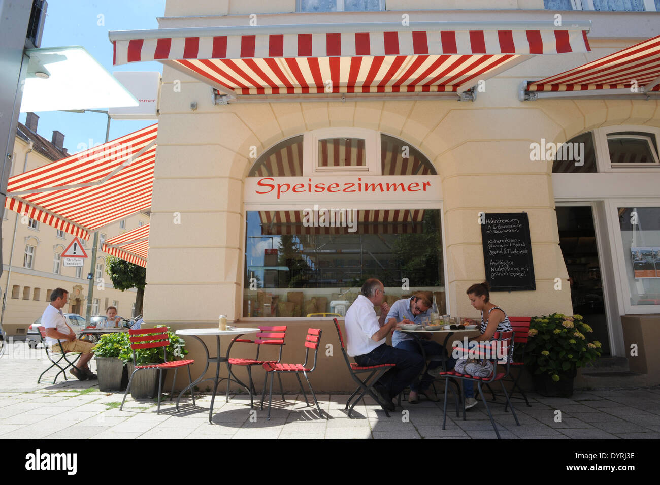 Cafe Speisezimmer In Munich Laim 2011 Stock Photo 68745922 Alamy