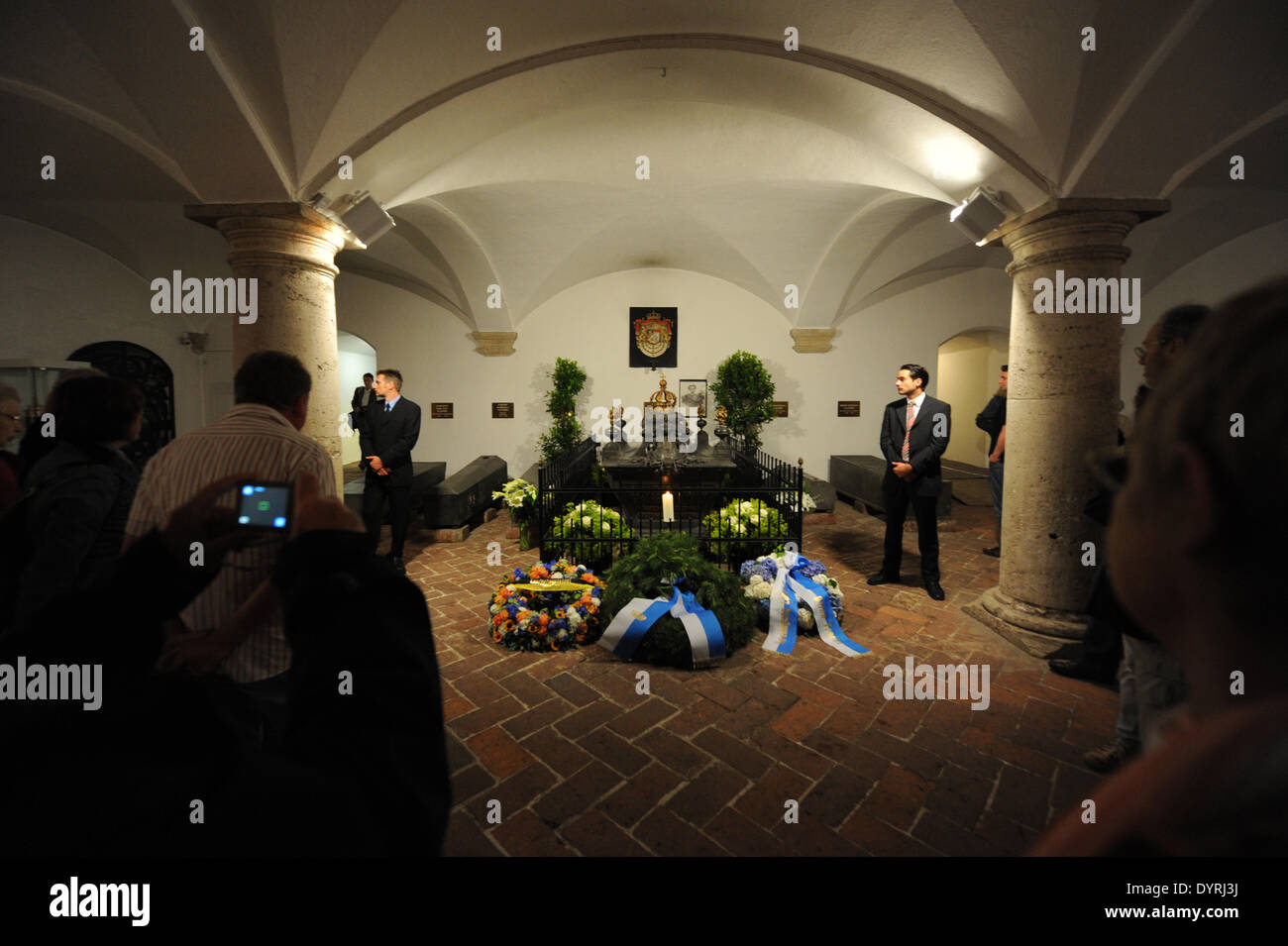 The 125th anniversary of the death of King Ludwig II of Bavaria, 2011 - Stock Image