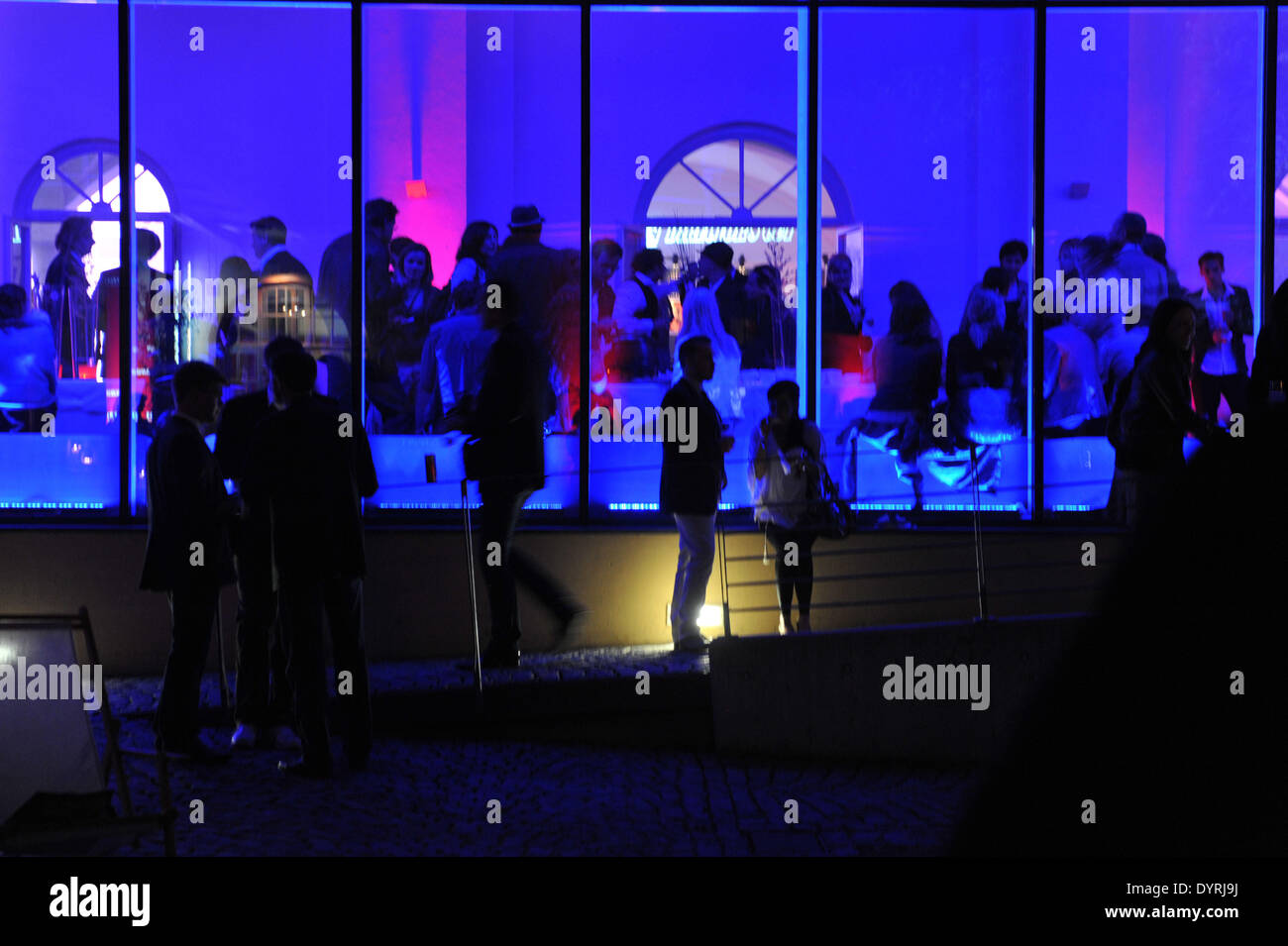 Tele 5 Party at the Munich Film Festival, 2011 - Stock Image