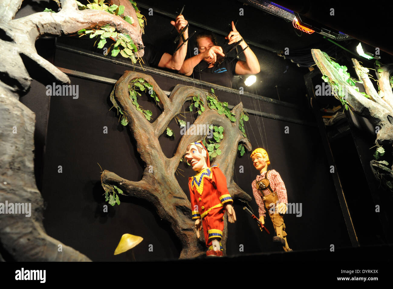 The Maatz Puppet Theater in Munich, 2012 - Stock Image