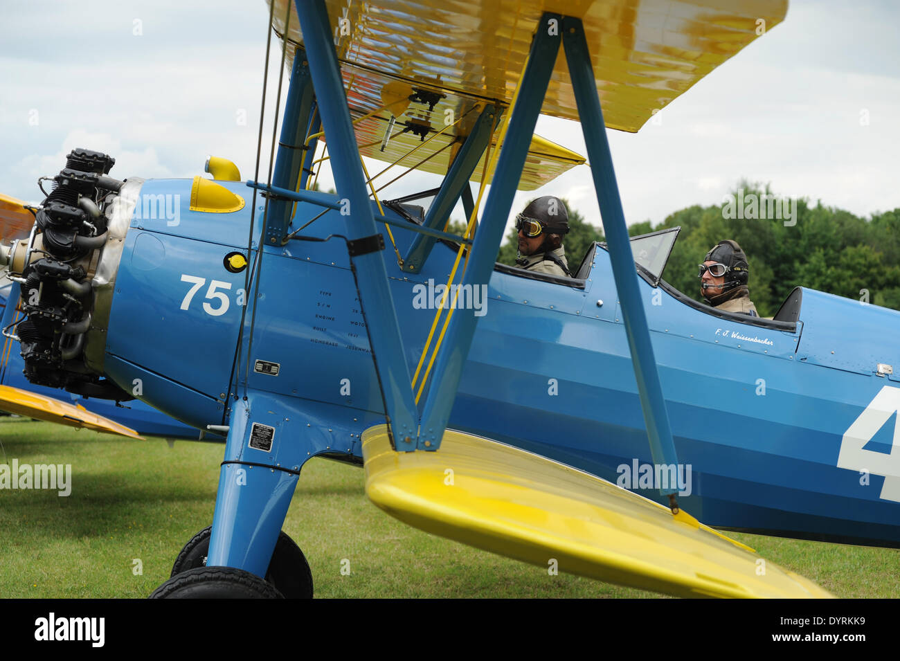 Fly-in on the 100th anniversary of the Schleissheim Airport, 2012 Stock Photo