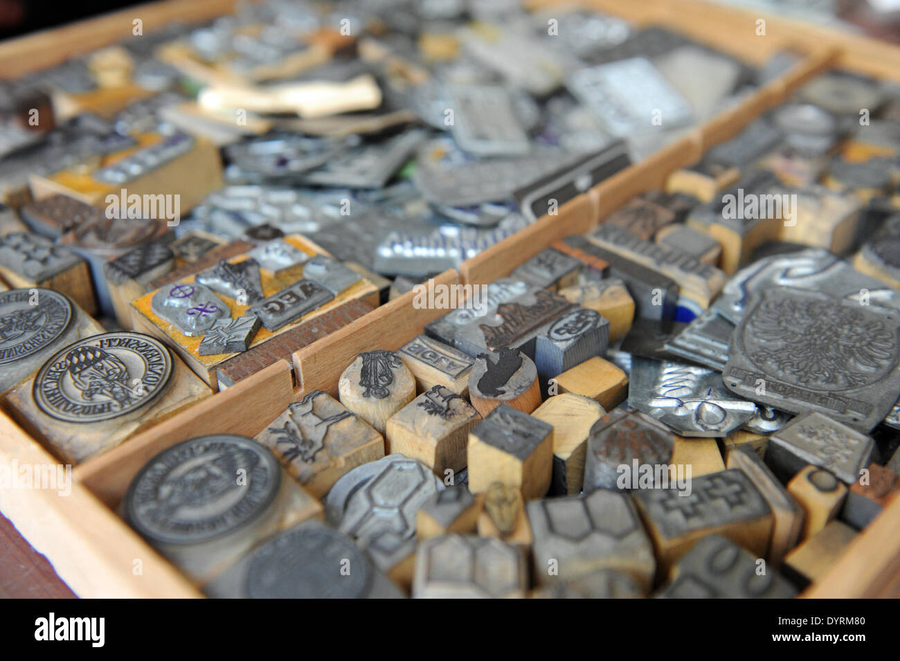 The 'Stempel Berger' in Munich closes down, 2012 - Stock Image