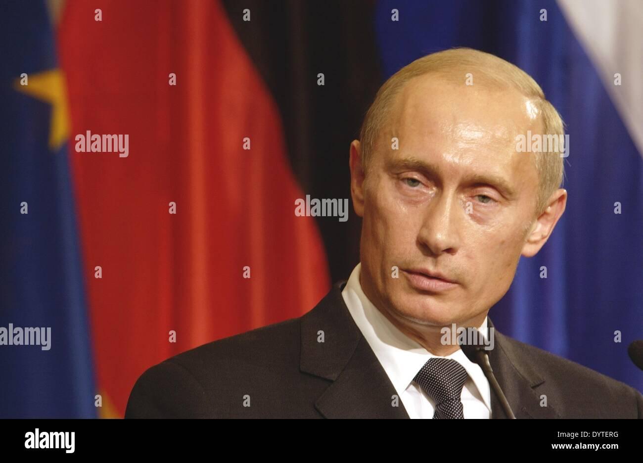 Vladimir Putin, 2005 - Stock Image