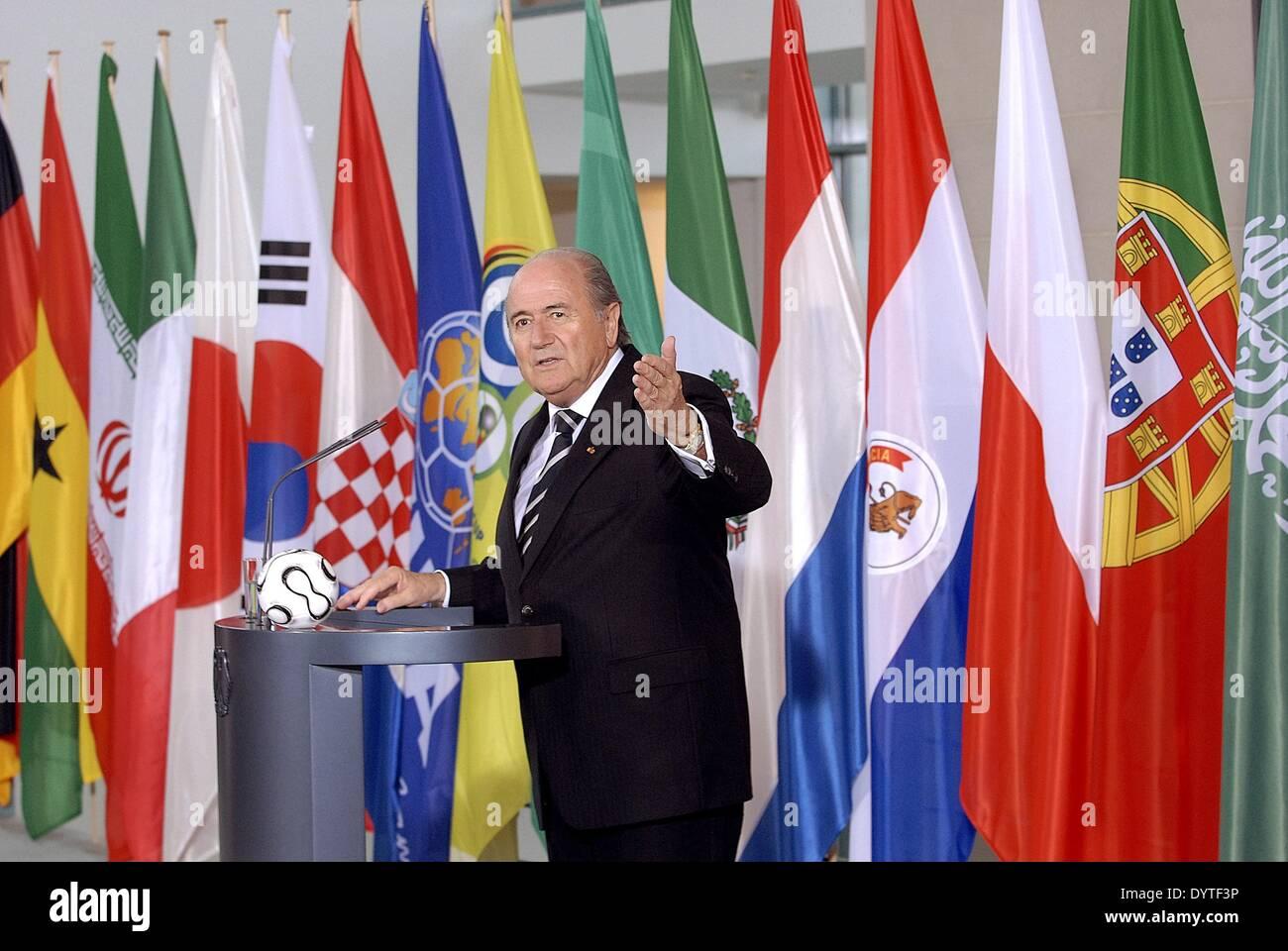 Joseph S. Blatter, 2006 - Stock Image