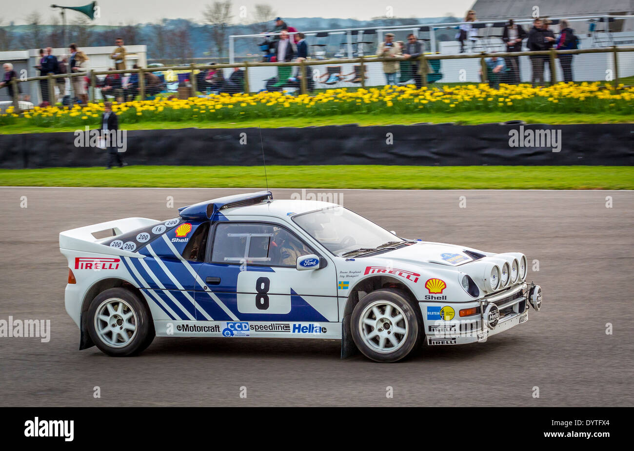 1986 Ford Rs200 Evo Group B Rally Car With Driver James Avis 72nd