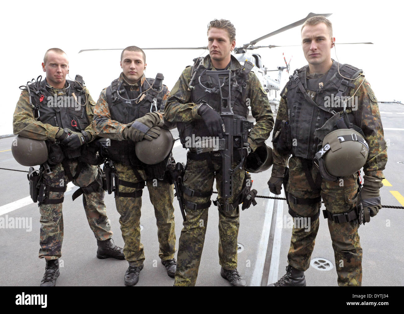 'Anti-Piracy' intervention force - Stock Image