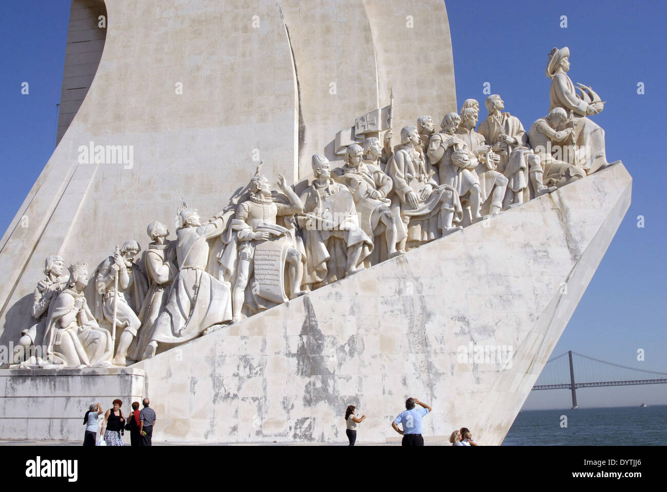 The Monument to the Discoveries - Stock Image
