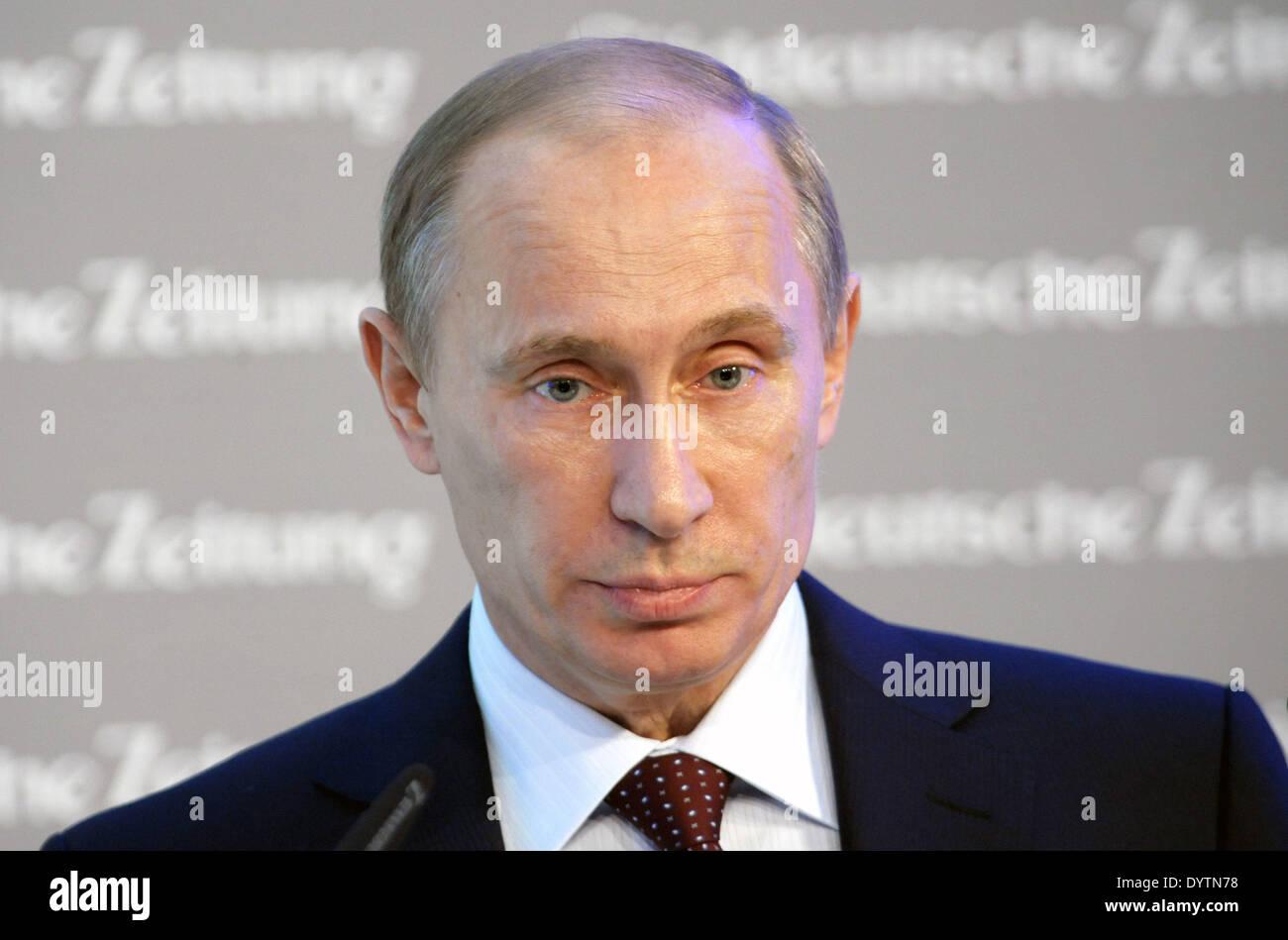 Vladimir Vladimirovich Putin Stock Photo