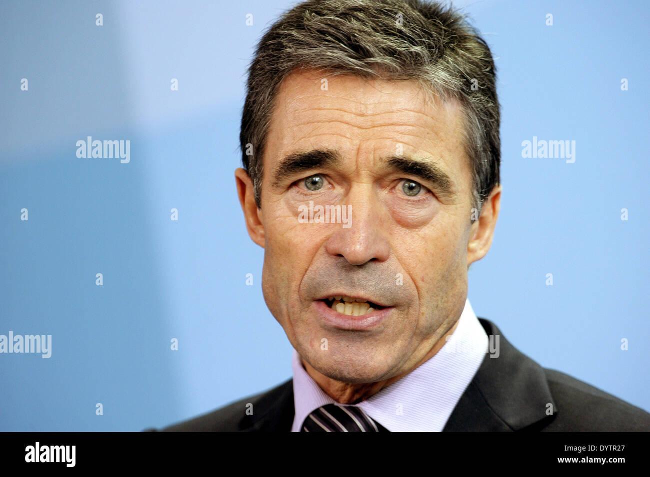 Anders Fogh Rasmussen Stock Photo