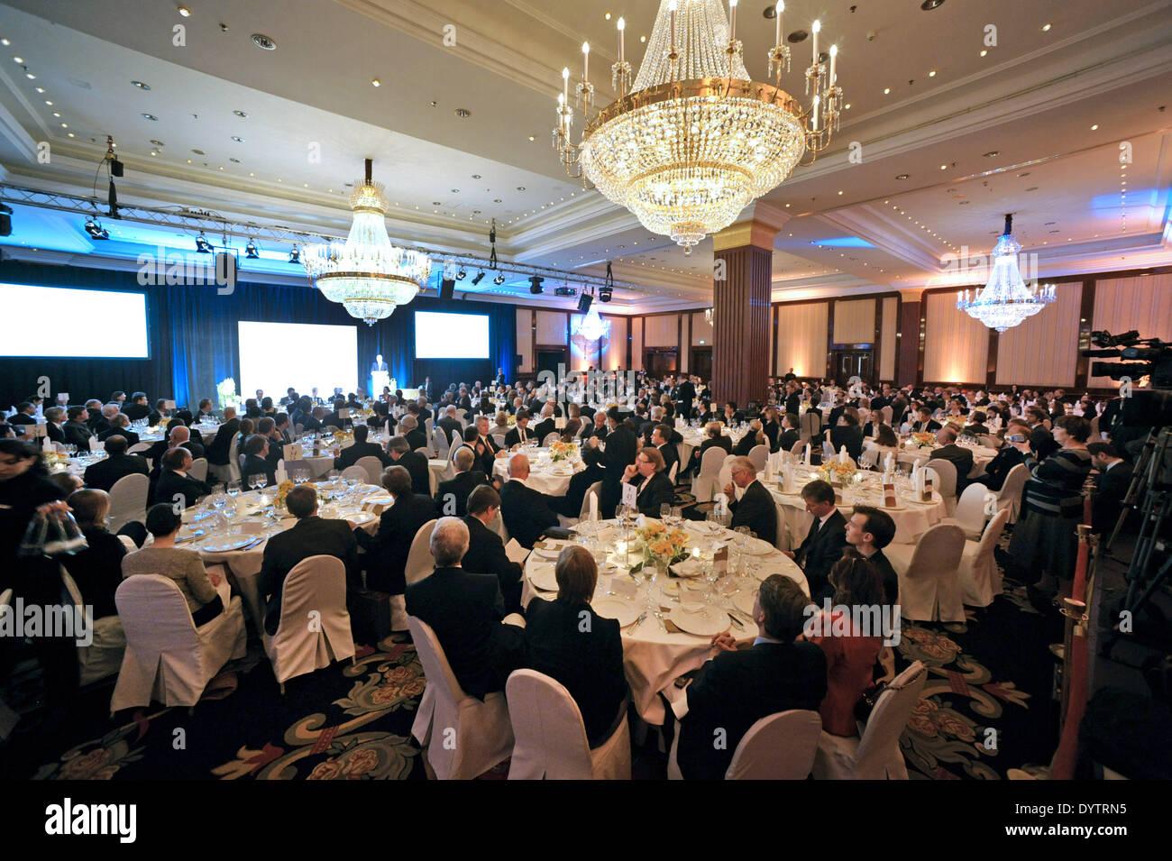 Gala Luncheon - Stock Image