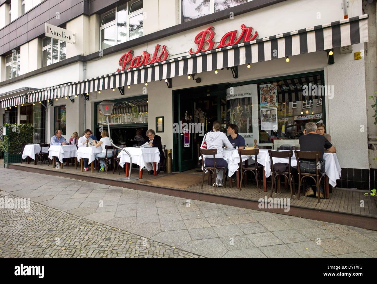 paris bar berlin stock photos paris bar berlin stock. Black Bedroom Furniture Sets. Home Design Ideas