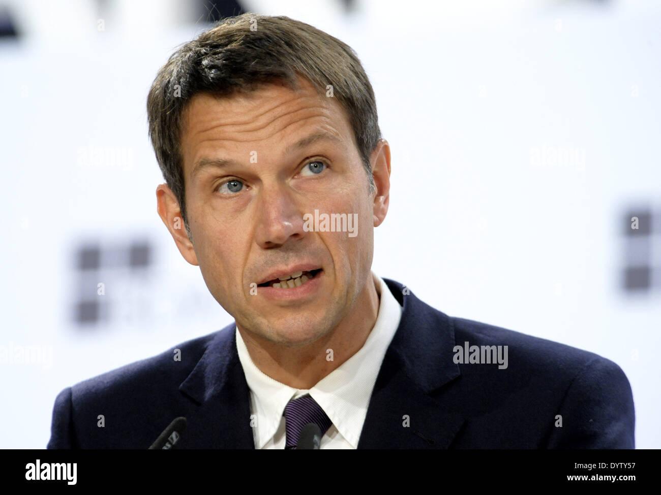 Rene Obermann Stock Photo
