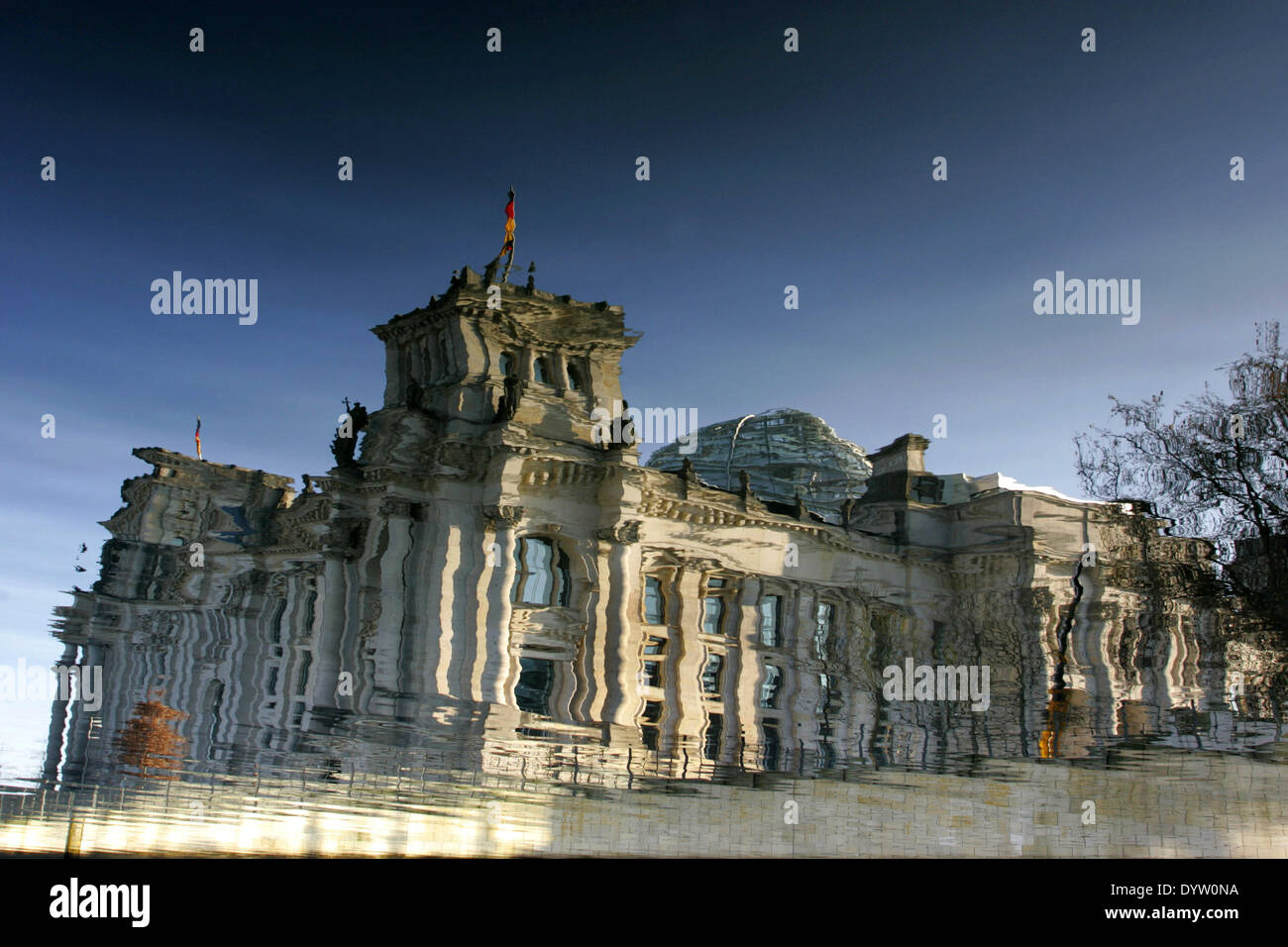 The Reichstag - Stock Image