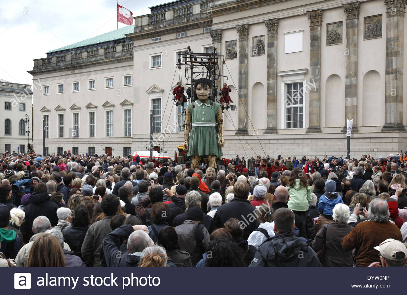 The Royal de Luxe theatre company - Stock Image