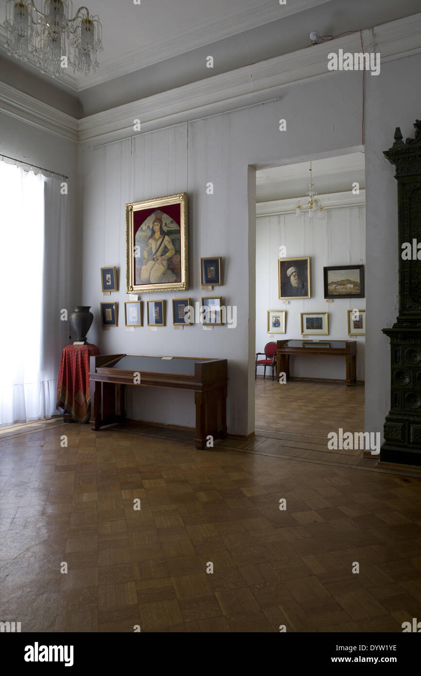 Interior of the State Museum of Art, Baku 2008 - Stock Image