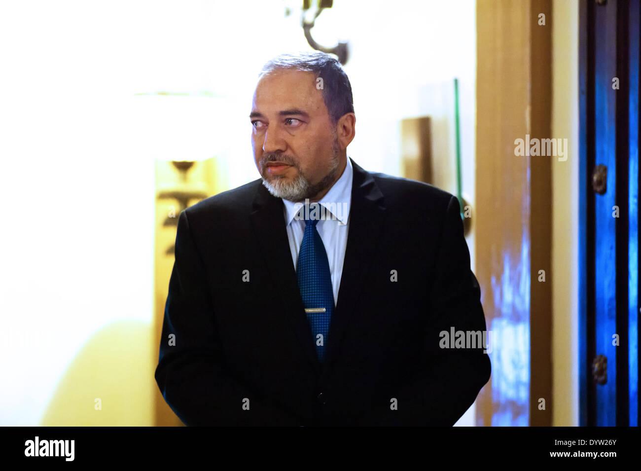 Avigdor Lieberman - Stock Image