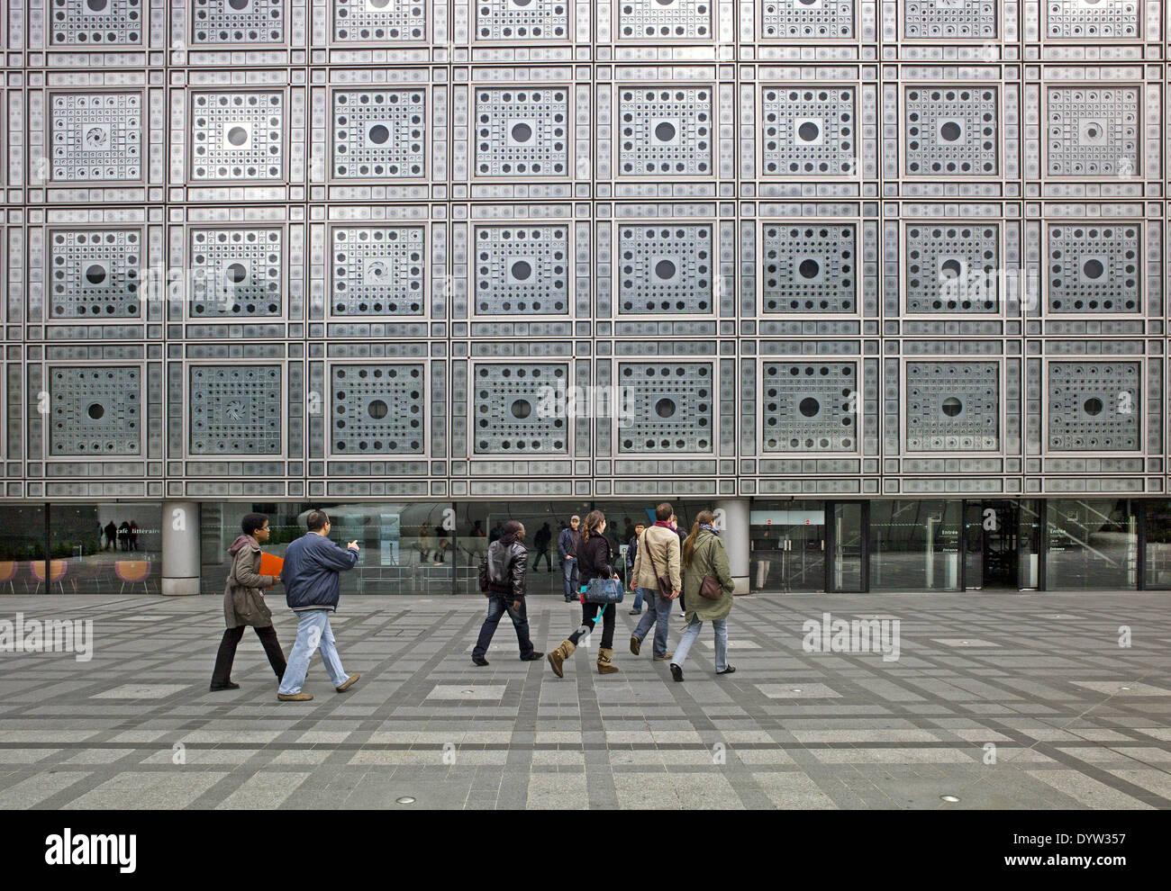 The Arab World Institute - Stock Image