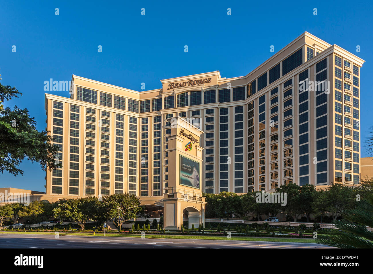 Beau Rivage Hotel And Casino On The Mississippi Gulf Coast At