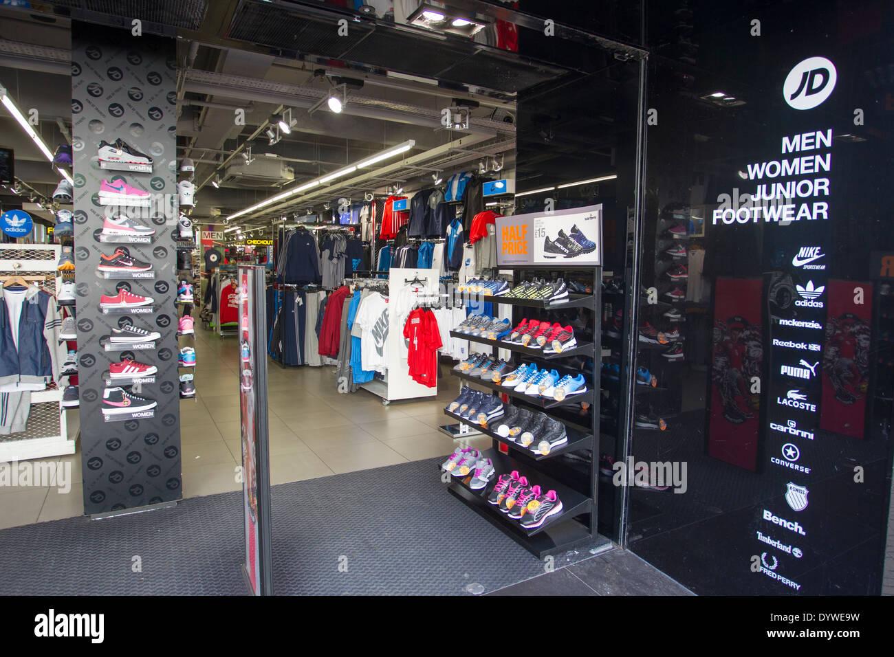 Shoe Store Preston