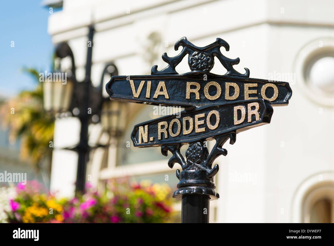 Rodeo Drive Sign Stock Photos Amp Rodeo Drive Sign Stock
