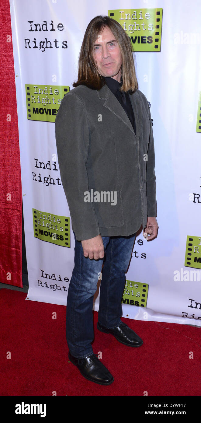 Hollywood, California, USA. 18th Apr, 2014. Jim Mitchel arrives at Hollywood premiere for the indie favorite, ''The Fray, '' at the Arena Cinema on Friday evening. © David Bro/ZUMAPRESS.com/Alamy Live News - Stock Image