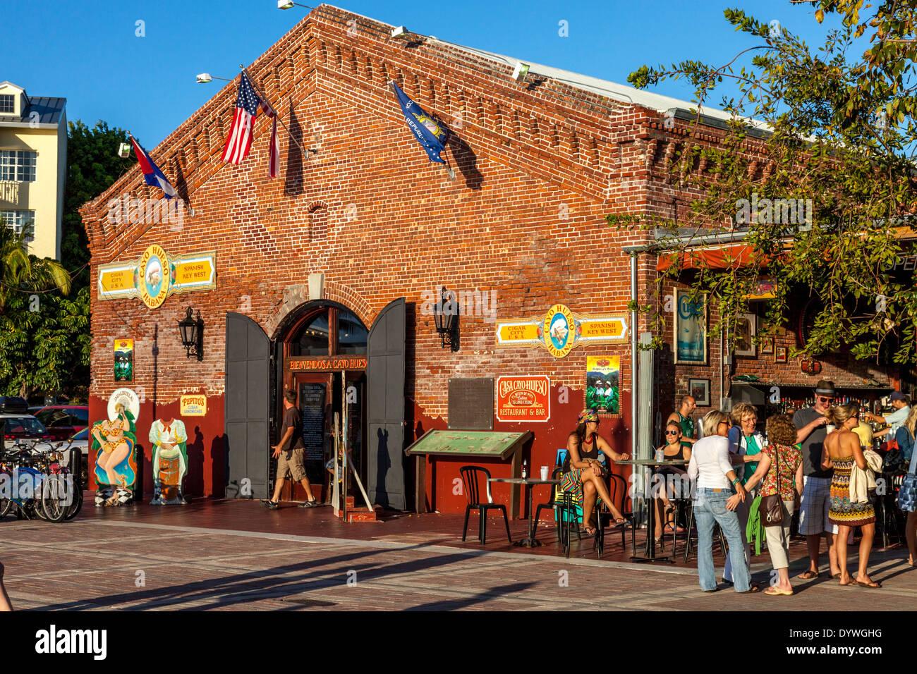 Bar/Cafe, Cayo Hueso, Key West, Florida, USA - Stock Image