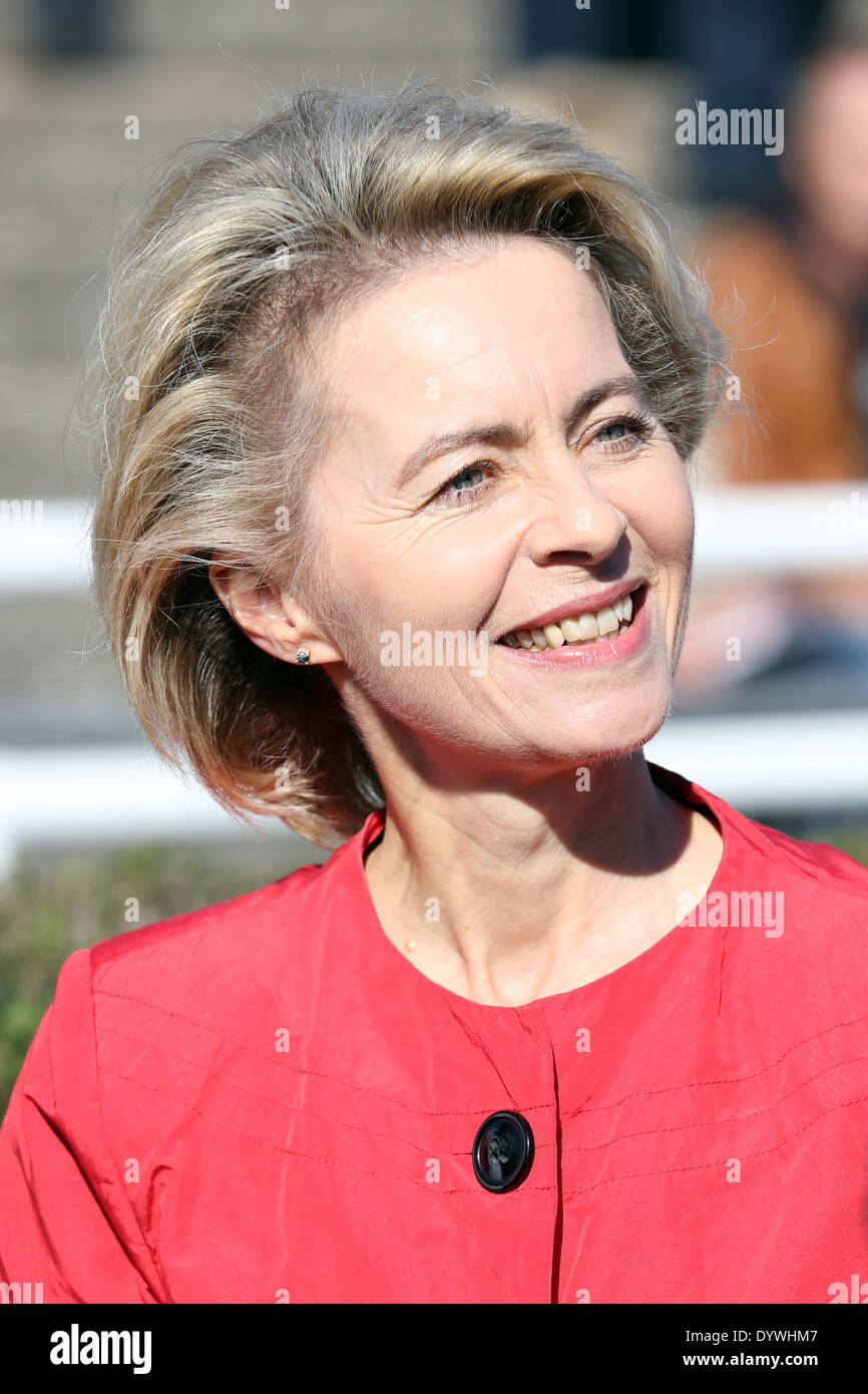 Hannover, Germany, Ursula von der Leyen, Federal Minister of Labour - Stock Image