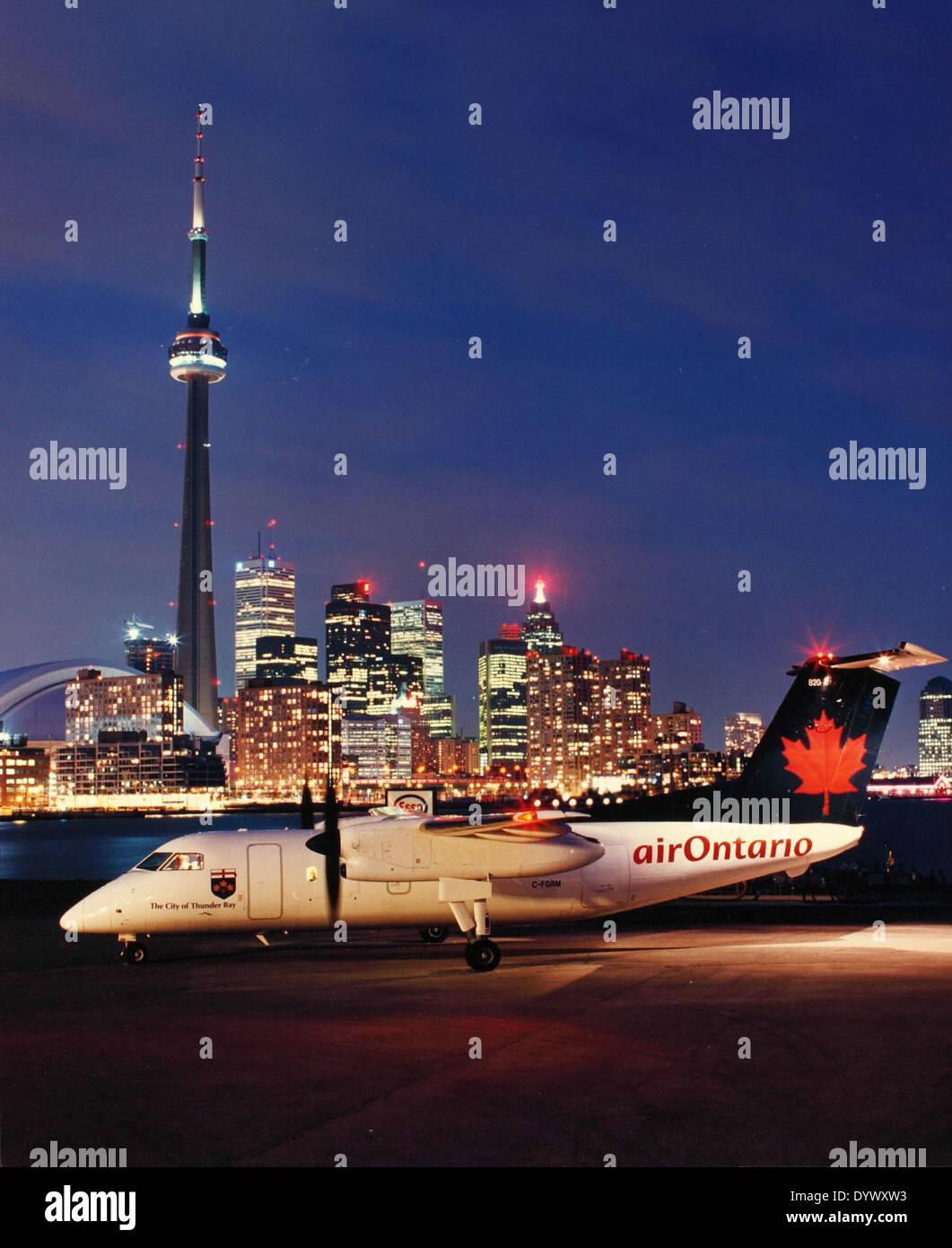 Bombardier (DeHavilland) - Stock Image