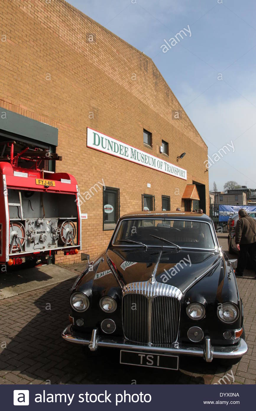 Dundee Museum Of Transport >> Dundee Museum Of Transport Scotland Stock Photo 68798166