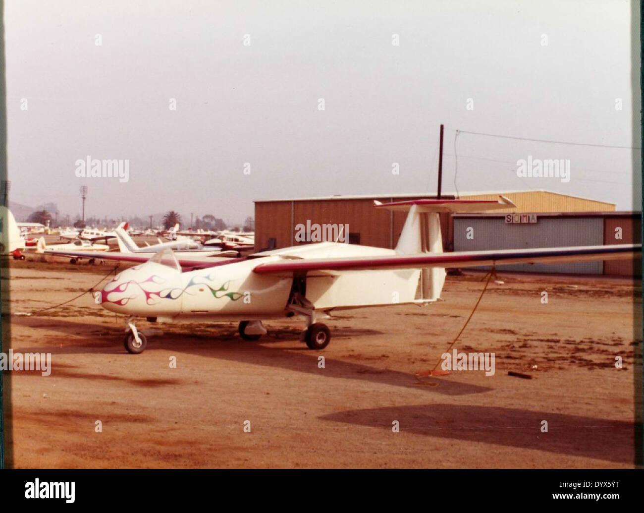 Rhein Flugzeugbau, RW-3-P-75 - Stock Image