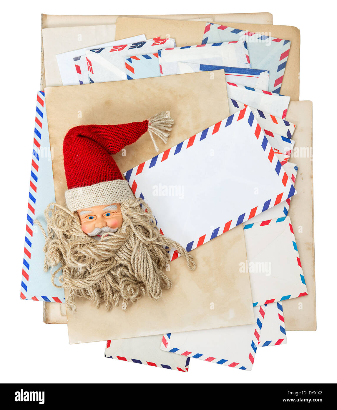 Christmas Post Envelope Stock Photos & Christmas Post Envelope Stock ...