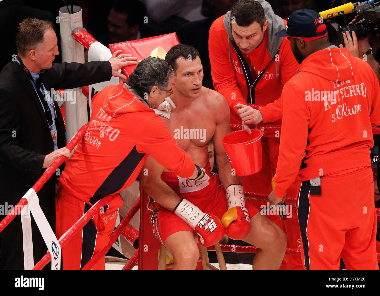 Vitali Klitschko And Wladimir Klitschko Stock Photos