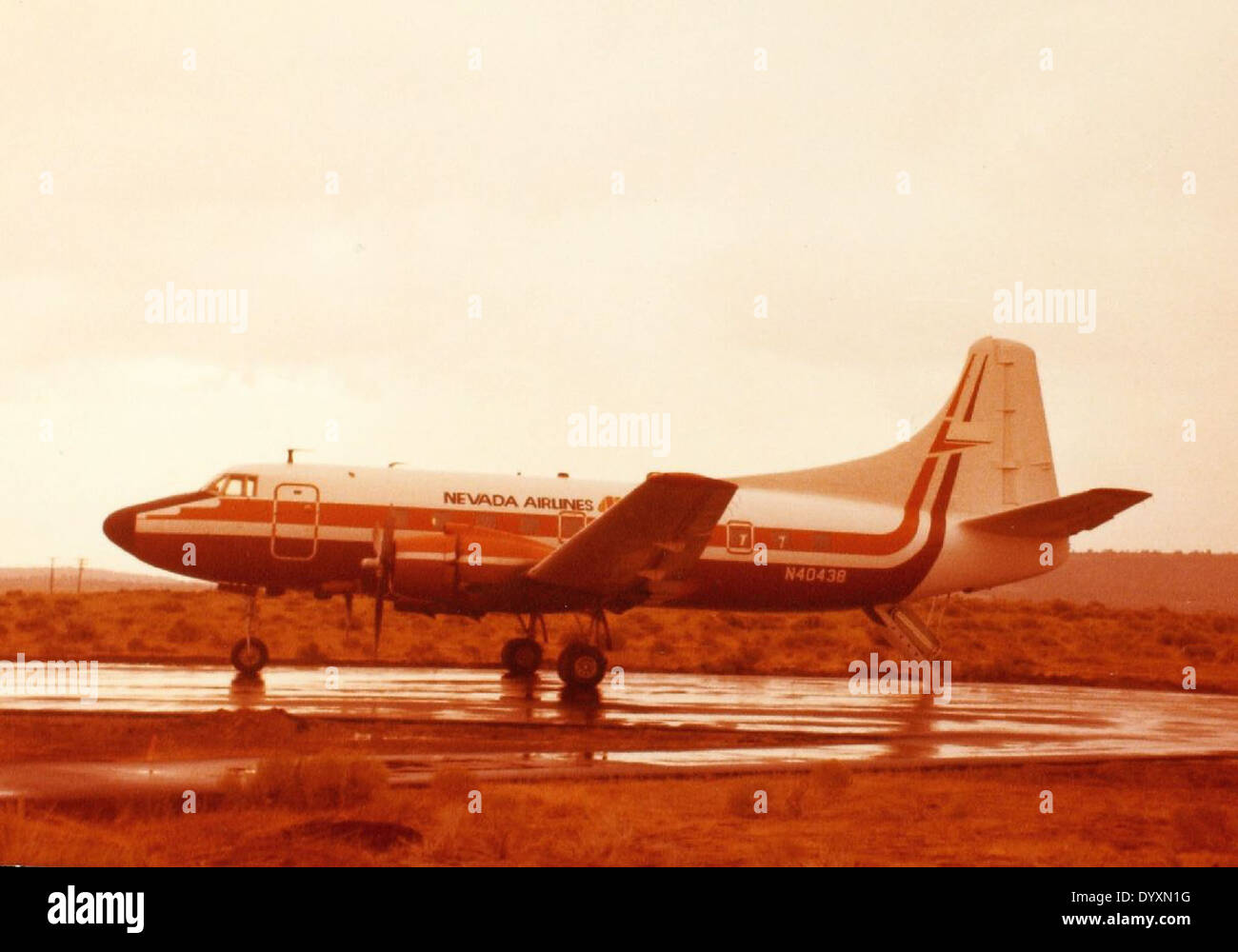 Convair, CV-240, Convair Liner - Stock Image