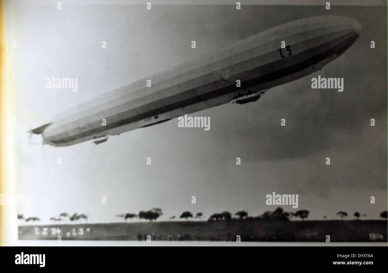 LZ-24 Zeppelin L3 Stock Photo