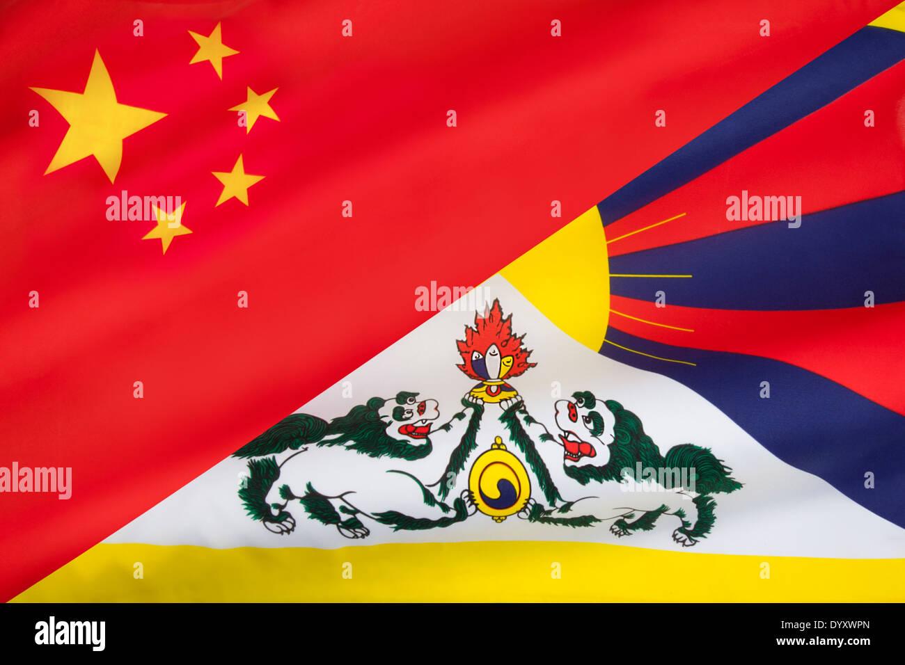 Snow Lion Tibet Stock Photos Snow Lion Tibet Stock Images Alamy