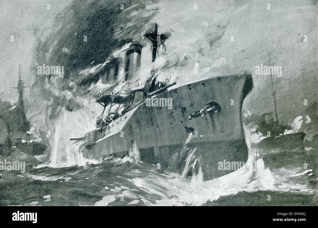 German Navy 1914 Stock Photos and Images