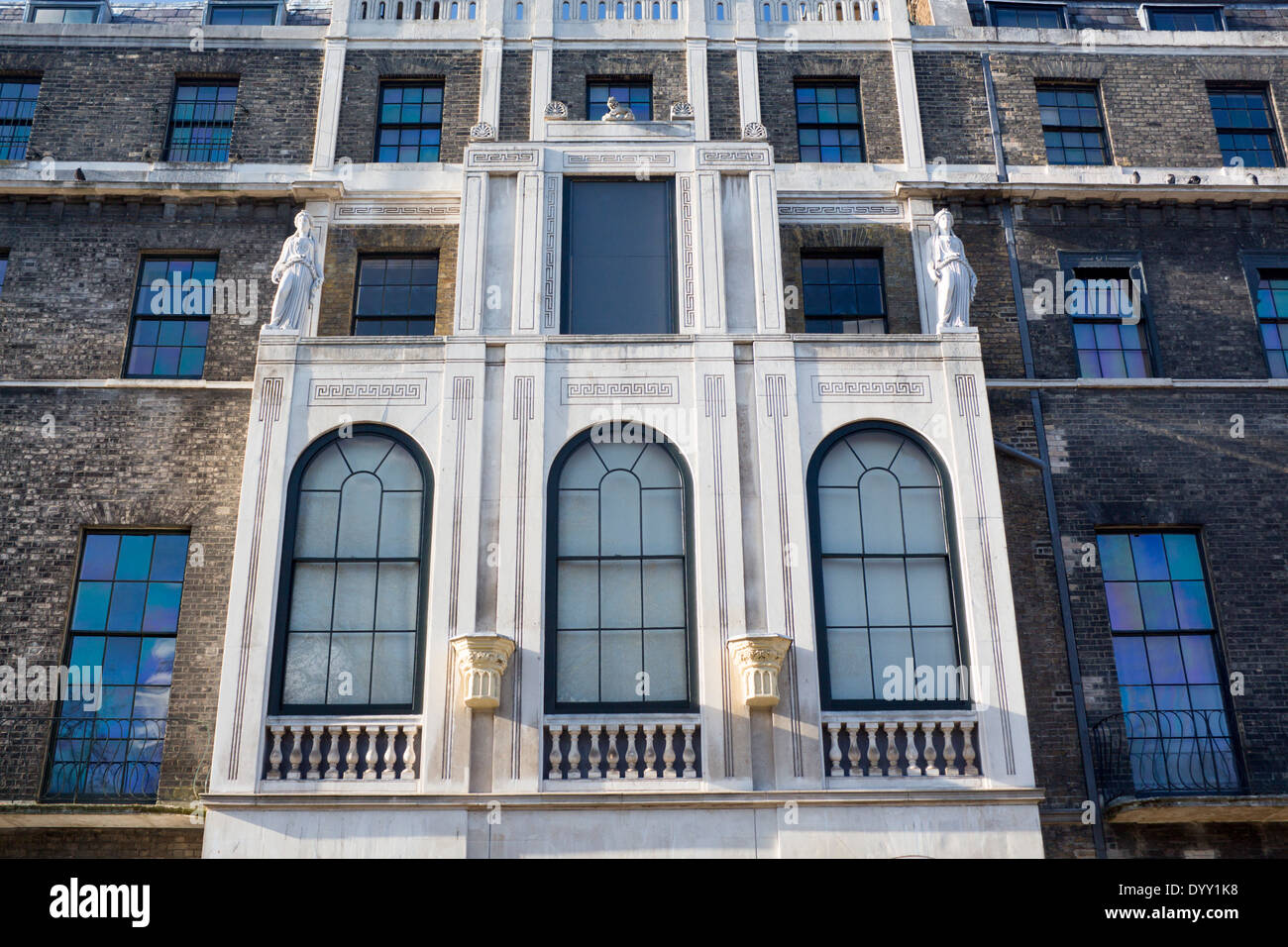 Exterior of Sir John Soane's Museum Lincoln's Inn Fields Inns of Court London England UK - Stock Image