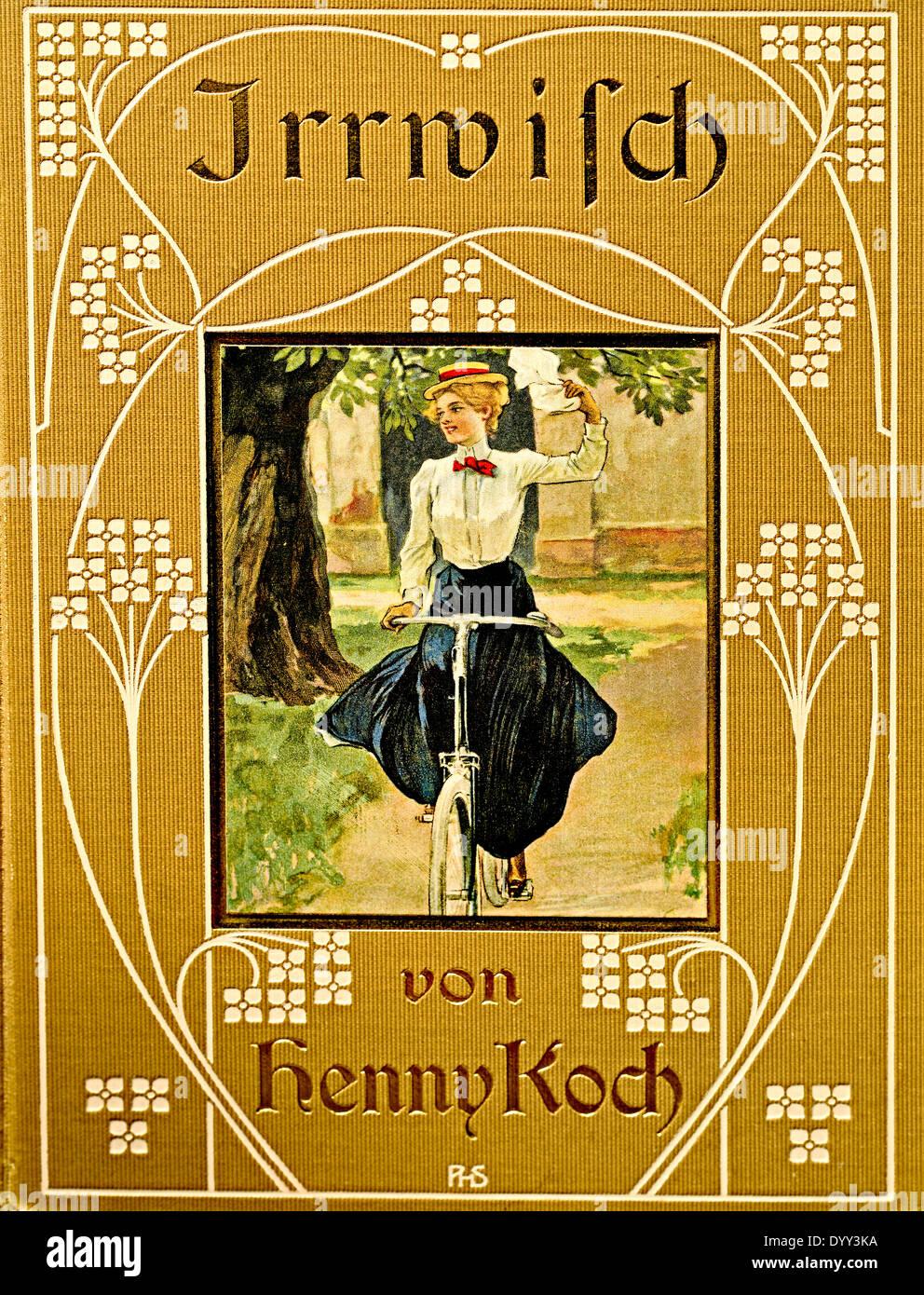 Book for girls as preparation for marriage Jugendbuch für Mädchen zur Vorbereitung auf Hochzeit und Ehe von Henny Koch; - Stock Image