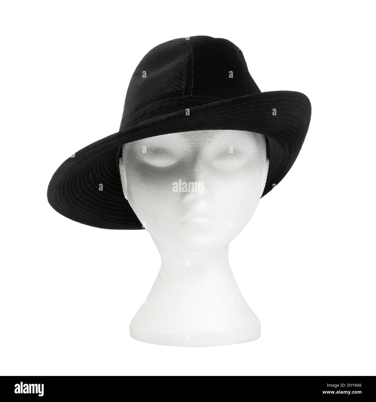 Philip Treacy (London) ladies black trilby hat Stock Photo  68823390 ... e94655c9ade