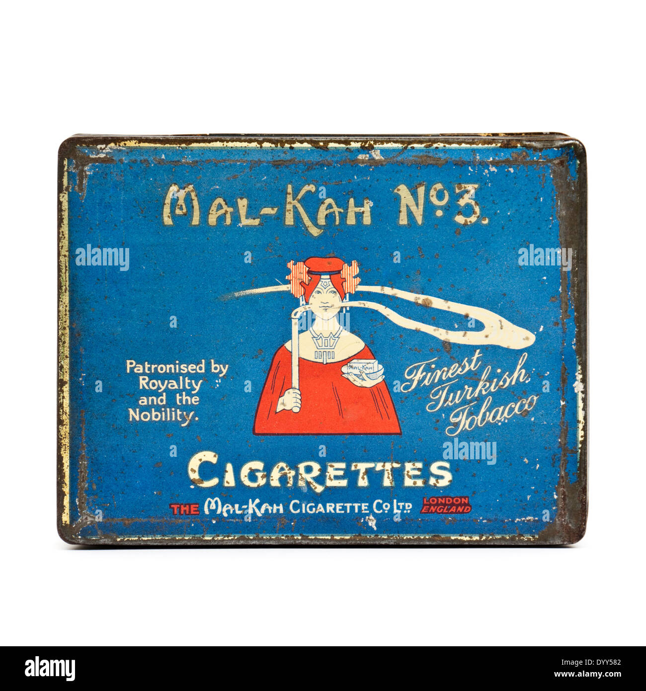 Really. was vintage cigarette tins think
