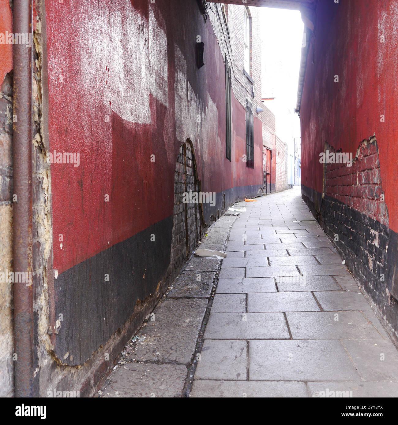 Abandoned Buildings Newcastle Uk: Derelict Lane Stock Photos & Derelict Lane Stock Images