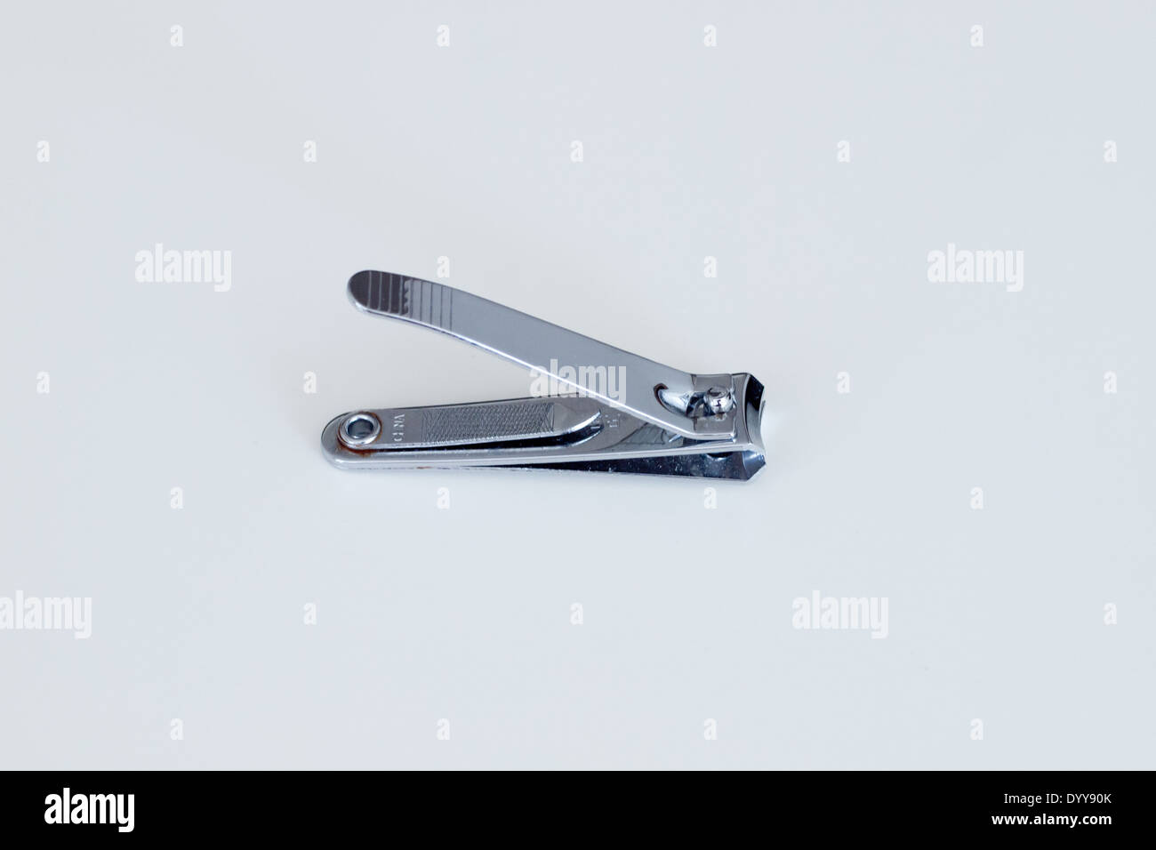 A nail clipper. - Stock Image