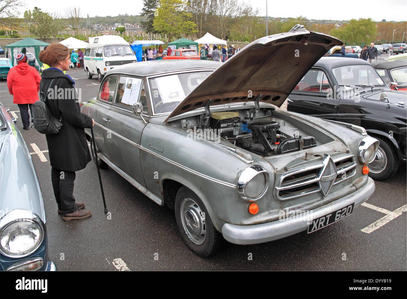 Unrestored 1957 Borgward Isabella TS. Swanage Classic Car Display ...