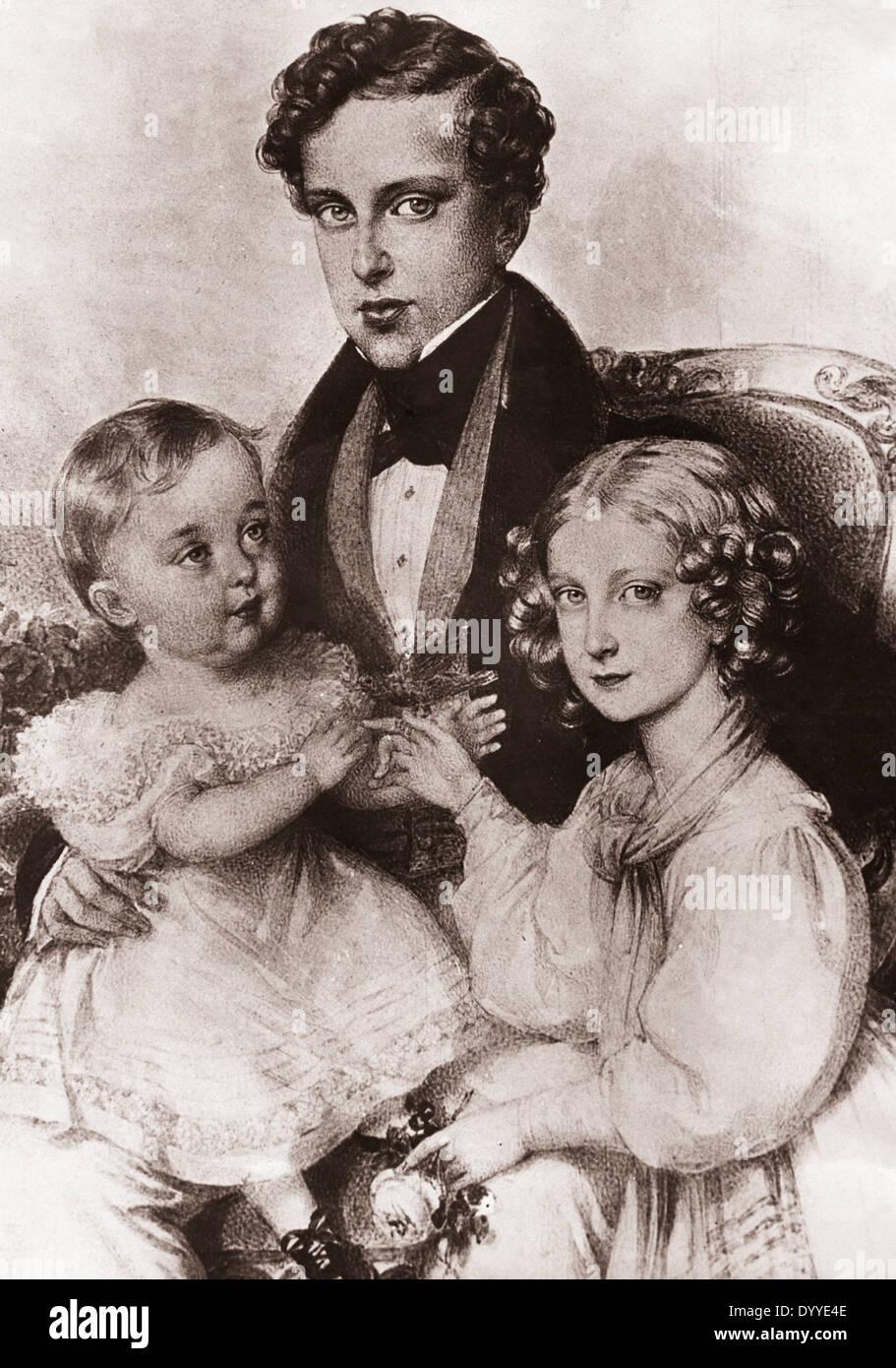 Napoleon II. Bonaparte Stock Photo