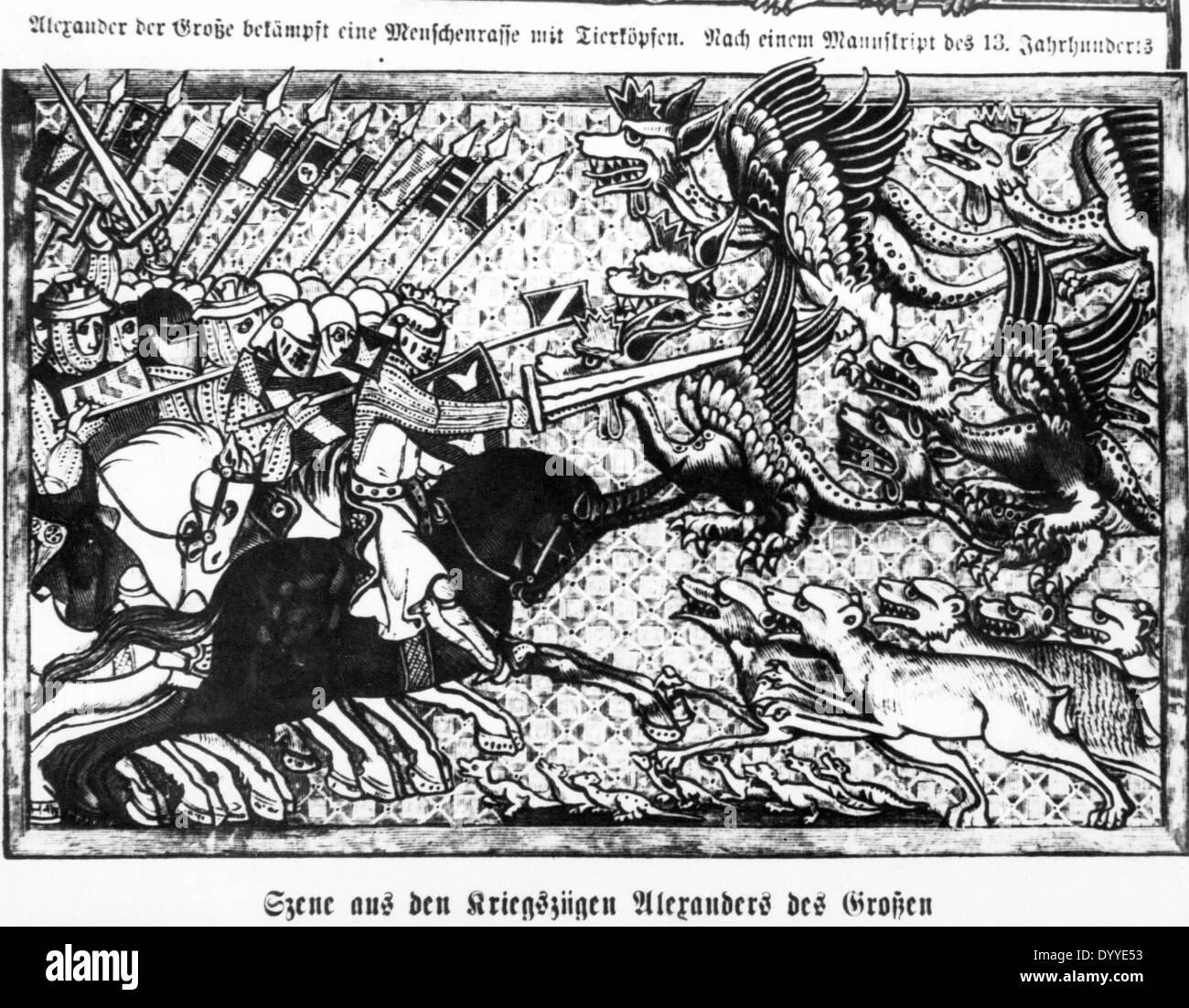 Alexander der Grosse - Stock Image