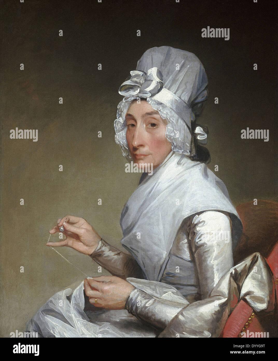Gilbert Stuart Catherine Brass Yates - Stock Image