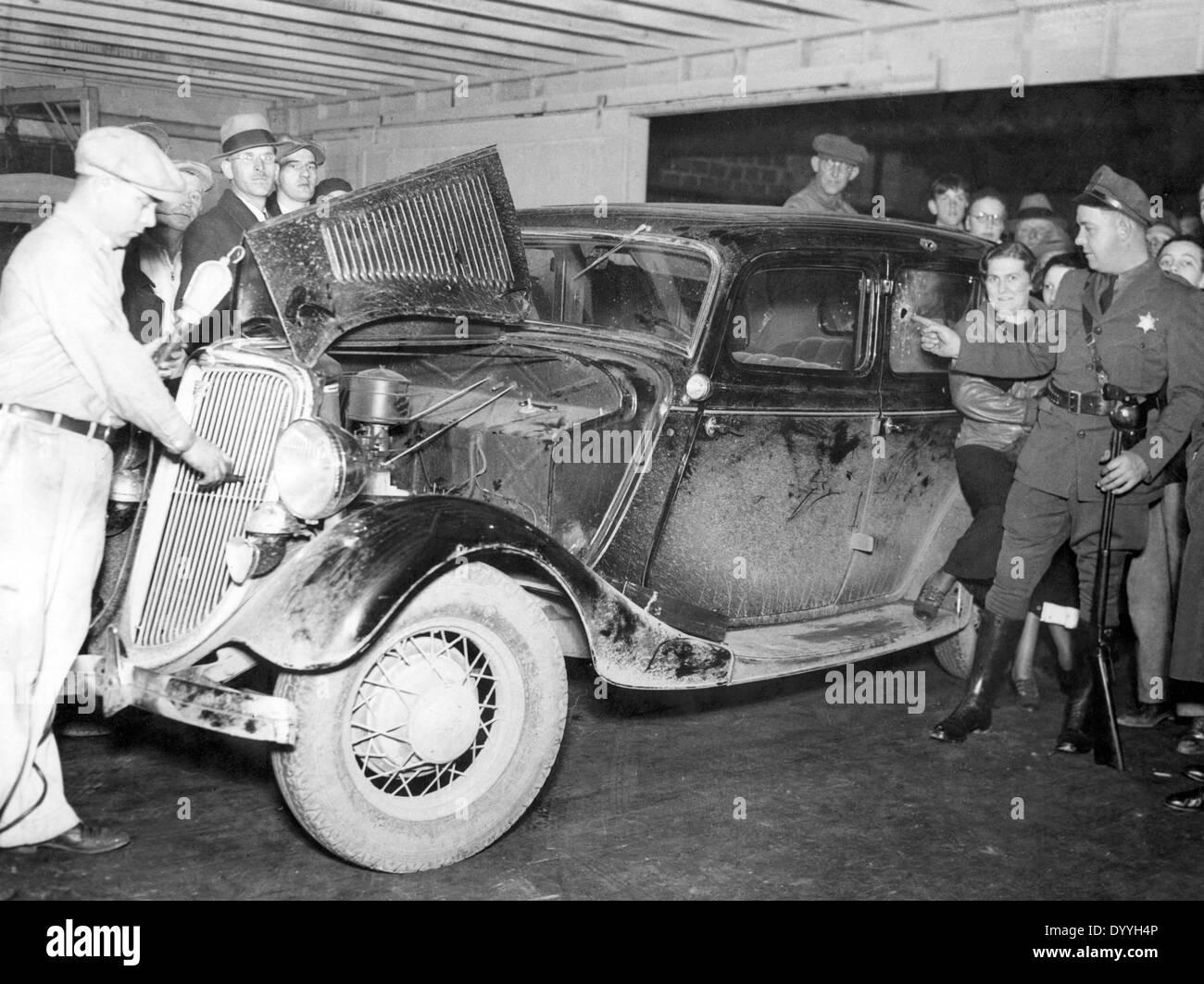John Dillinger - Stock Image