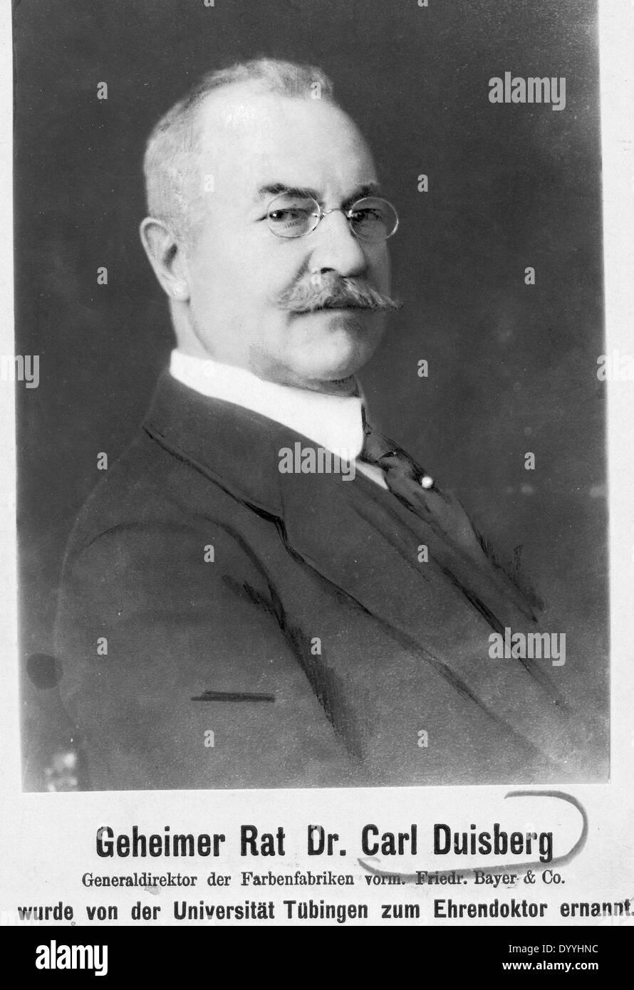 Dr. Carl Duisberg - Stock Image